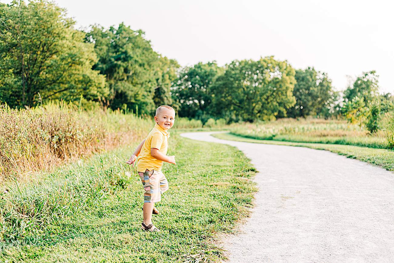 Child Photography | Koey | Scioto Grove Metro Park | Grove City, Ohio
